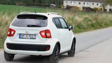 Ob allein oder mit Kindern, der Suzuki Ignis bietet Platz genug.