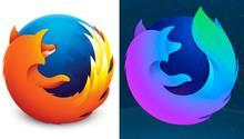 Das Logo des Mozilla Firefox 57 Nighly