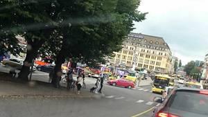 Der Tatort in Turku: Mann sticht mehrere Menschen nieder