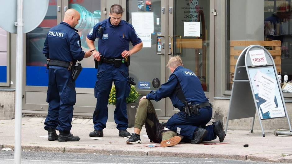 Attacke in Finnland: Polizei vermutet Terroranschlag in Turku