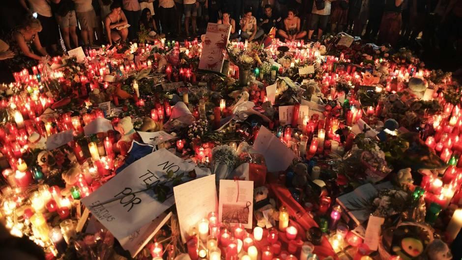 Trauer in Barcelona