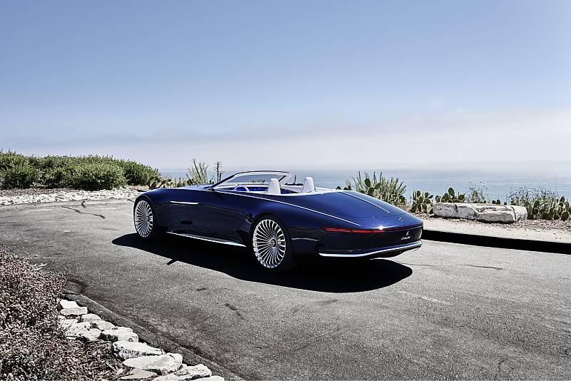 vision mercedes maybach 6 cabriolet luxus aus einer. Black Bedroom Furniture Sets. Home Design Ideas