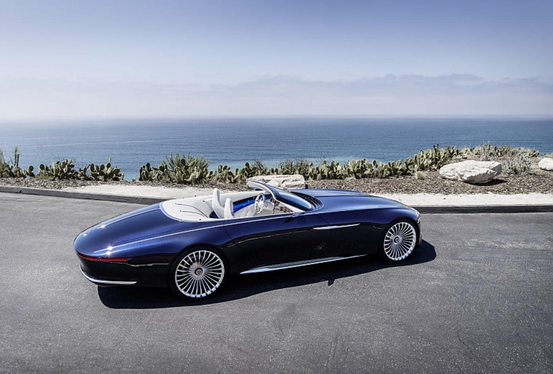 Vision Mercedes-Maybach 6 Cabriolet - eine faszinierende Yacht auf Rädern