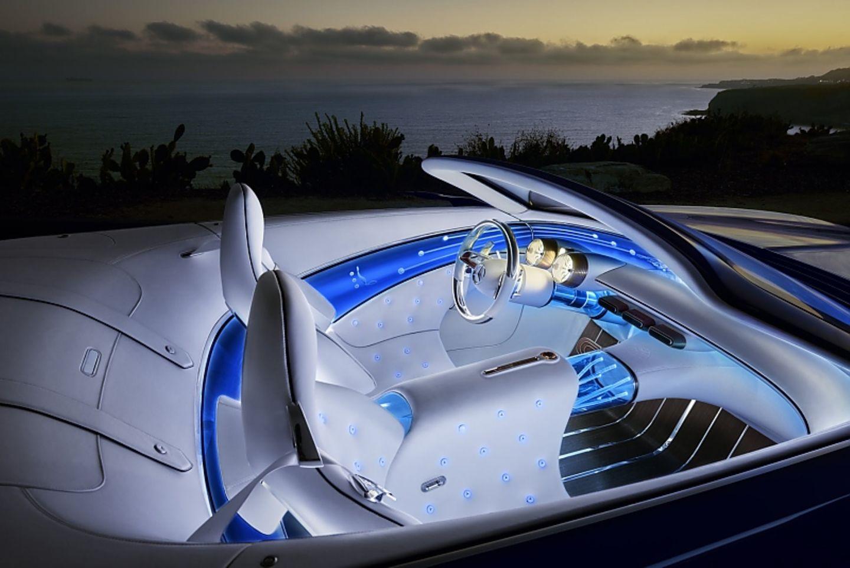 Der Innenraum des Vision Mercedes-Maybach 6 Cabriolet