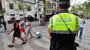 Nach dem Terror von Barcelona: Der Fahrer des Lieferwagens ist möglicherweise noch auf der Flucht