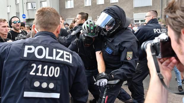 Nazi Demo Berlin Spandau
