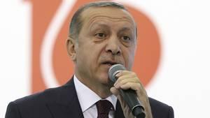Der türkische Präsident Recep Tayyip Erdogan bleibt auf Konfrontationskurs mit Deutschland