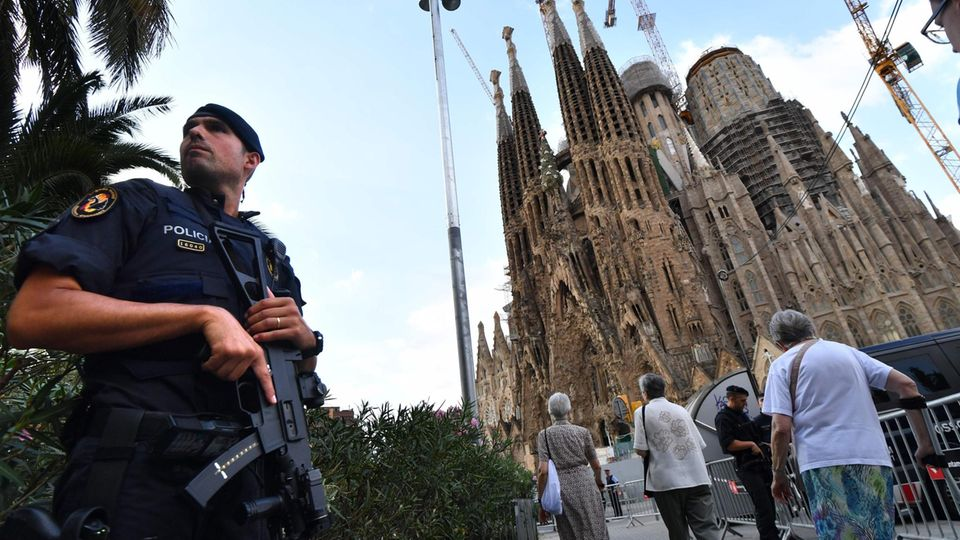 Sagrada Familia Basilika in Barcelona