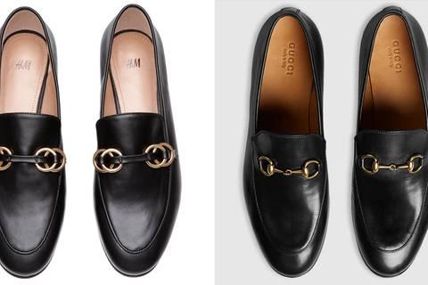 Ganz schön ähnlich: Gucci-Schuhe zu teuer? Bei H&M gibt's sie für 25 Euro