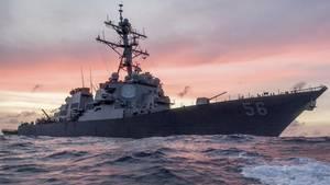 Zerstörer USS John S. McCain
