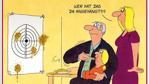 Cartoon-Buch von Uli Stein: Enkelkinder - irgendwo hört der Spaß auch auf