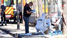 Ein Auto ist in Marseille in eine Bushaltestelle gefahren und hat eine Frau getötet
