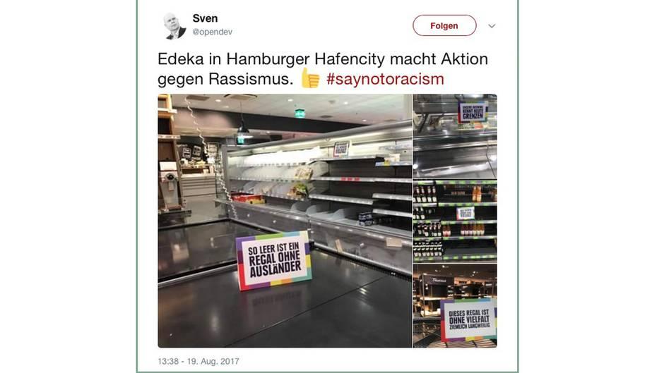 Edeka Raumt Alle Internationalen Produkte Aus Den Supermarkt Regalen