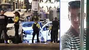 Terror von Barcelona: Der Lenker des Lieferwagens entkam mit Sonnenbrille