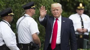 Donald Trump: Secret Service steht vor Finanzkrise - zu hohe Kosten für Trump und seine Familie