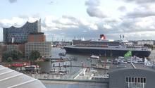 Queen Mary 2 trifft auf Elphilharmonie