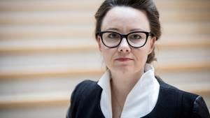 Die Bundestagsabgeordnete Michelle Müntefering