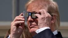 Da! Donald Trump mit Brille