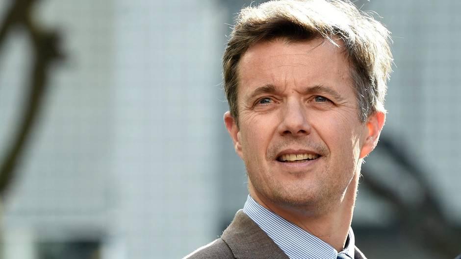 Der dänische Kronprinz Frederik sieht aber auch jung aus