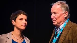 Funkstille in der AfD zwischen Frauke Petry und Alexander Gauland
