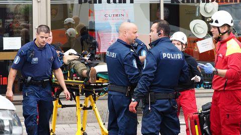 Der Messerstecher tötete im finnischen Turku zwei Frauen und verletzte acht weiter Personen