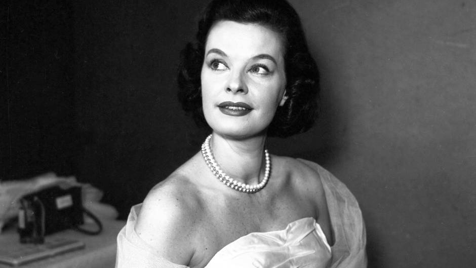 Margot Hielscher 1956 in Hamburg