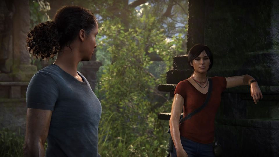 Nadine und Clhloe in Uncharted: The Lost Legacy