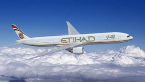Boeing 777 der Etihad Airways