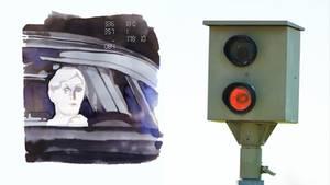 Meike Winnemuth: Das wahre Gesicht zeigt sich auf einem Blitzerfoto