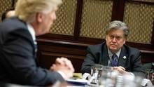 Donald Trump und Steve Bannon