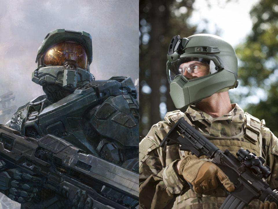 Revision Military sagt, man sei nicht durch die Halo-Spiele inspiriert worden. Die Ähnlichkeit ist dennoch groß.