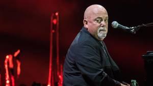 Billy Joel im vergangenen Herbst bei einem Konzert in Frankfurt