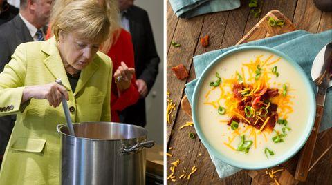 Das Geheimnis von Angela Merkels Kartoffelsuppe