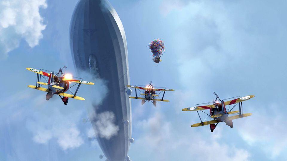 Zeppeline könnten bald als Lagerhäuser von Walmart dienen