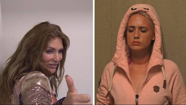 """Sarah Kern und Sarah Knappik bei """"Promi Big Brother"""""""