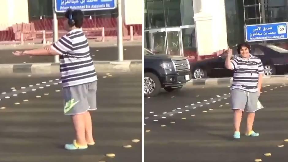 """Saudi Arabien: 14-Jähriger tanzt zu """"Macarena"""" auf der Straße und wird festgenommen"""