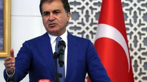 Der türkische Europaminister Ömer Celik