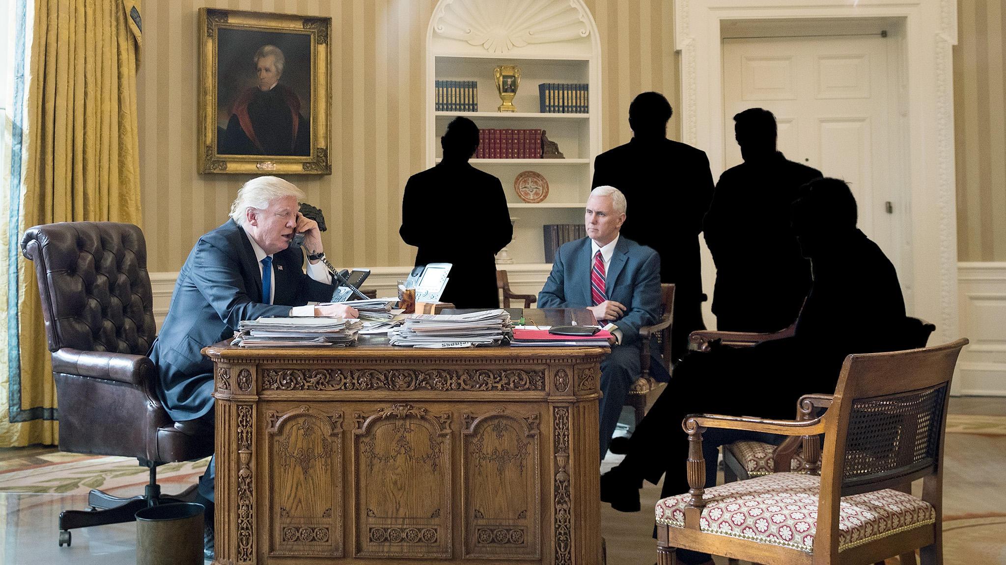 Personalkarussell Weißes Haus wen feuert Donald Trump als nächstes