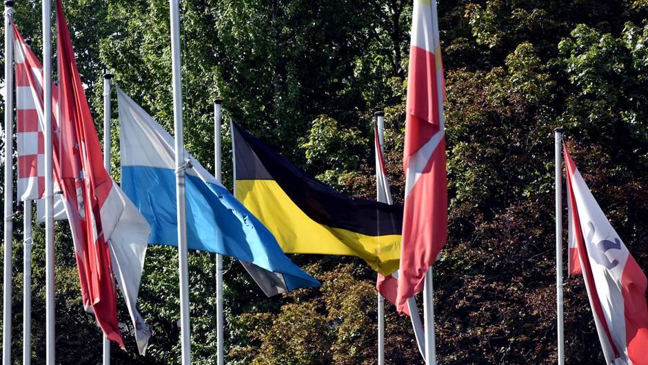 Hessen fehlt im Berliner Reigen der Landesflaggen