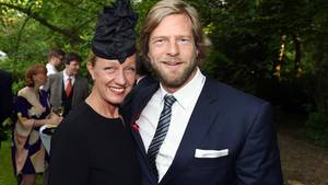 Henning Baum und Ehefrau Corinna