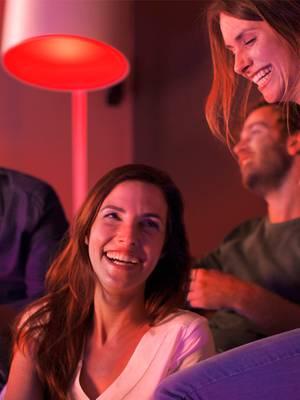 Smarte Lampen von Philips Hue tragen zur Wohnatmosphäre bei