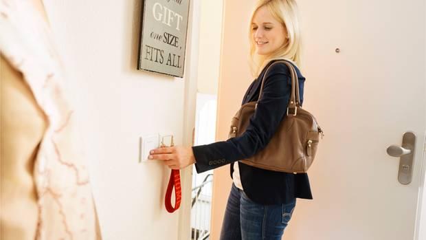 Beim Smart Home können sogar Lichtschalter mitdenken