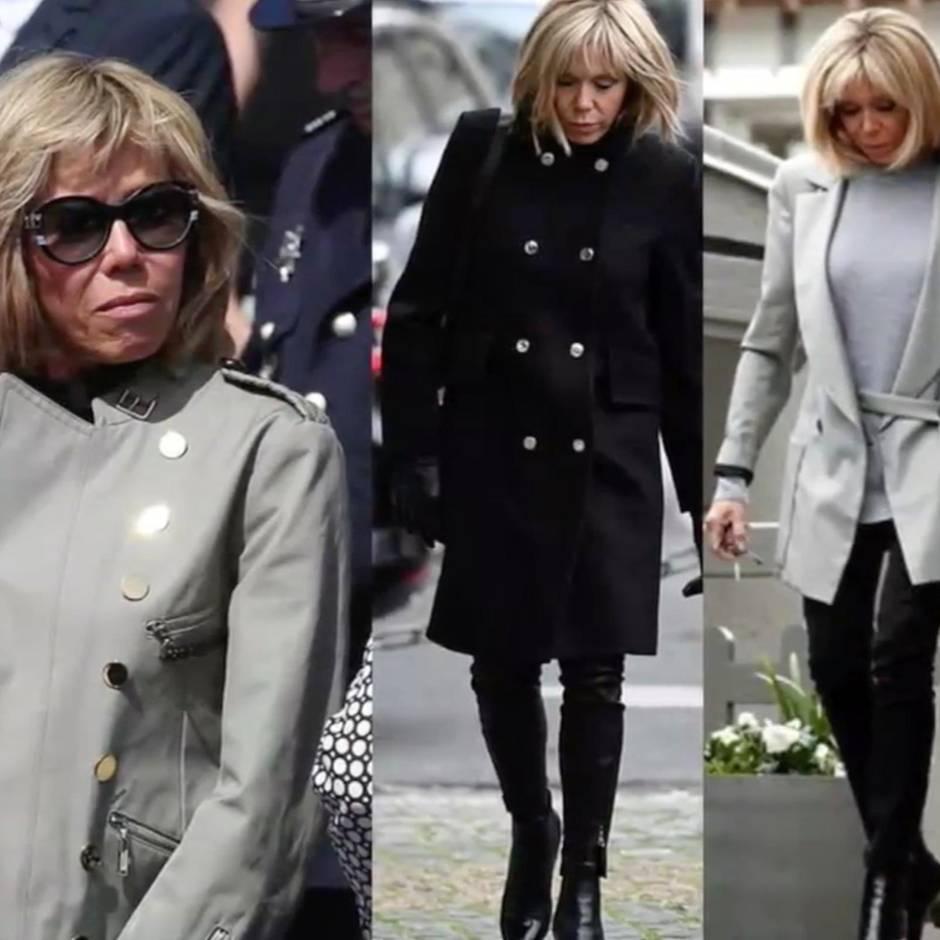 Brigitte Macron Mode Darum Tragt Sie Immer Blazer