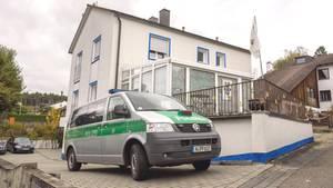 """In diesem Haus in Georgensgmünd feuerte """"Reichsbürger"""" Wolfgang P. im Oktober 2016 auf mehrere Polizisten"""
