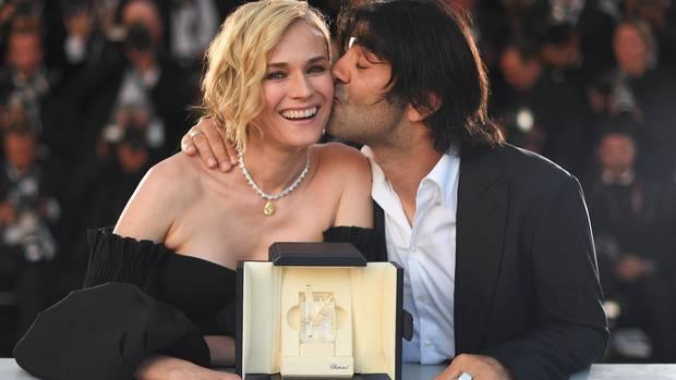 Diane Kruger und Fatih Akin bei den Filmfestspielen in Cannes