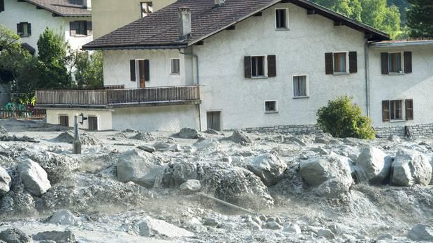 Bergsturz Val Bondasca