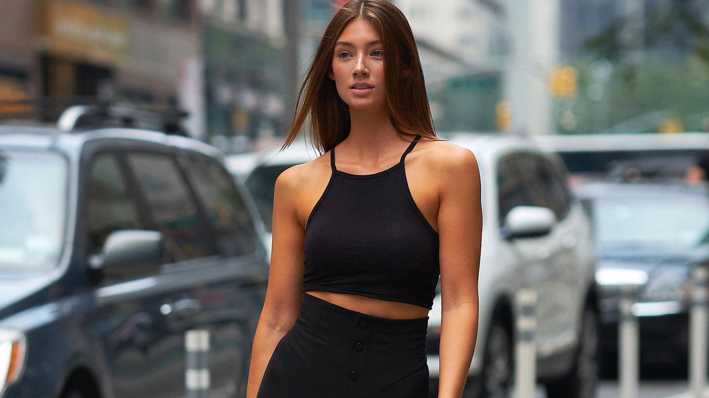 Lorena Rape auf dem Weg zum Victoria's Secret Casting in New York