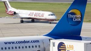 Condor soll ein Angebot für mehrere Air-Berlin-Jets vorbereiten