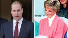 Prinz William spricht über Dianas Essstörung