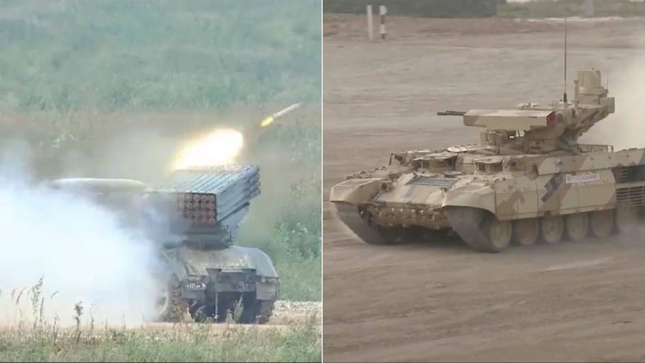 Militärmesse bei Moskau: Wie Russlands Waffenindustrie vom Kampfeinsatz in Syrien profitiert